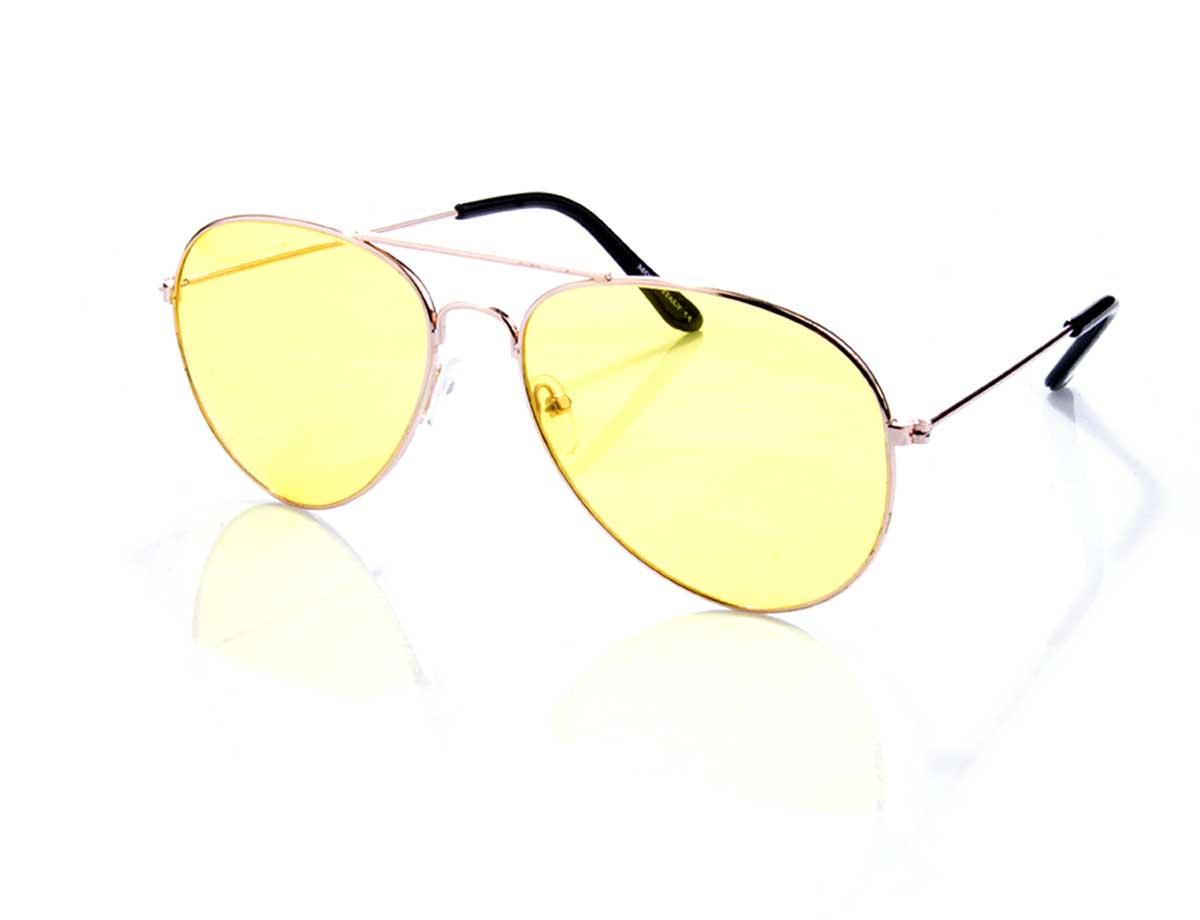 7d1adb658 Óculos Aviador com lente Amarela   CANEVI